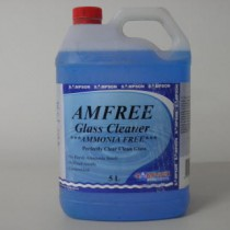 Amfree Glass Cleaner Ammonia Free 5 Litres