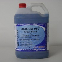 Bowled Out Toilet Bowl & Urinal Cleaner 5 Litres
