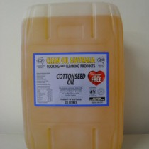 Clean Oil Australia Cottonseed Oil 20 Litres