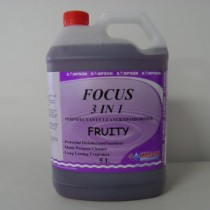 Focus 3 in 1 Disinfectant-Cleaner-Deodoriser Fruity 5 Litres