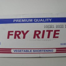Fry Rite Vegetable shortening Premium Quality 15 Kg