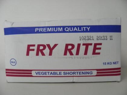 Fry Rite Vegetable shortening Premium Quality 15 Kg