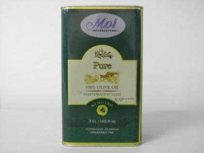 Pure 100% Olive Oil Mediterranean Taste 3 Litres