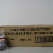 Stainless Steel Scourer 80g